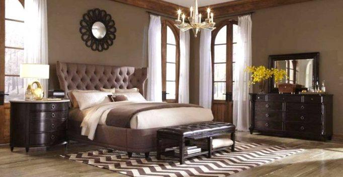 Chambre en beige et marron 15 id es pour bien marier ces 2 couleurs - Camera da letto marrone ...