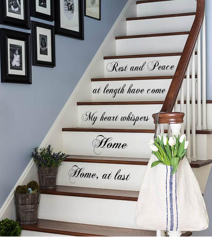 Decorare le scale con Gusto