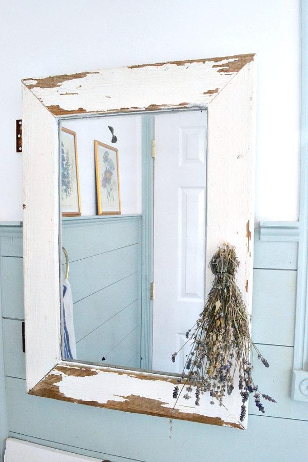 customiser un miroir 15 id es diy pour vous inspirer. Black Bedroom Furniture Sets. Home Design Ideas