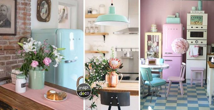 Merveilleux Retro Style In The Kitchen! 15 Ideas That Will Inspire You.