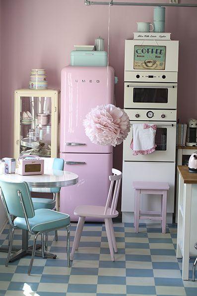 Le style rétro dans la cuisine