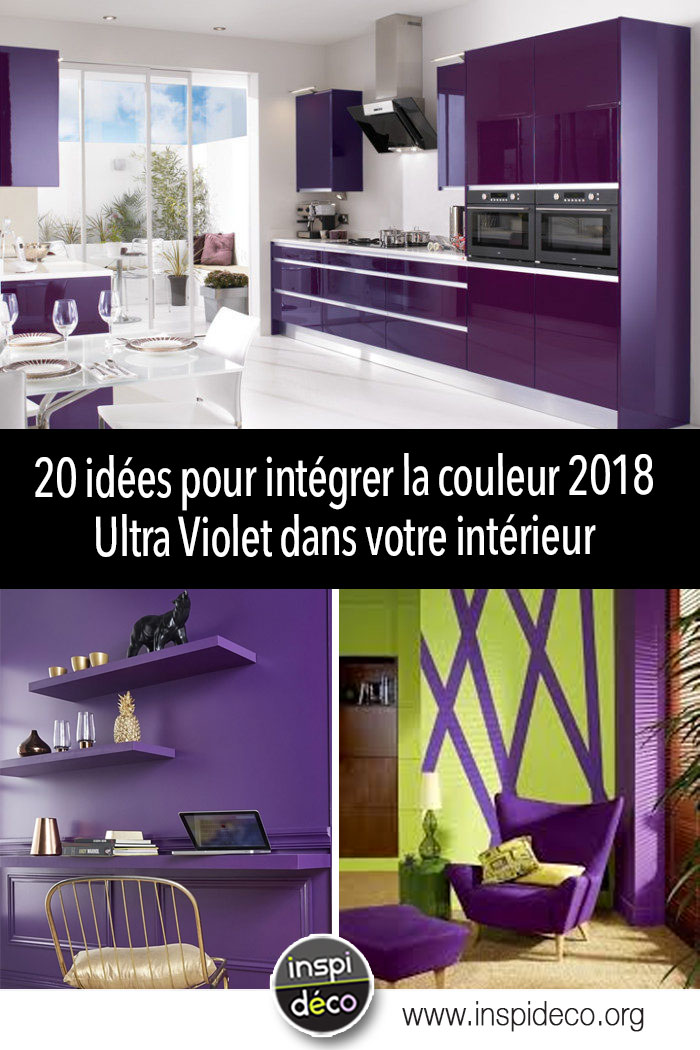 d corer son int rieur avec ultra violet 2018 couleur pantone de l 39 ann e. Black Bedroom Furniture Sets. Home Design Ideas