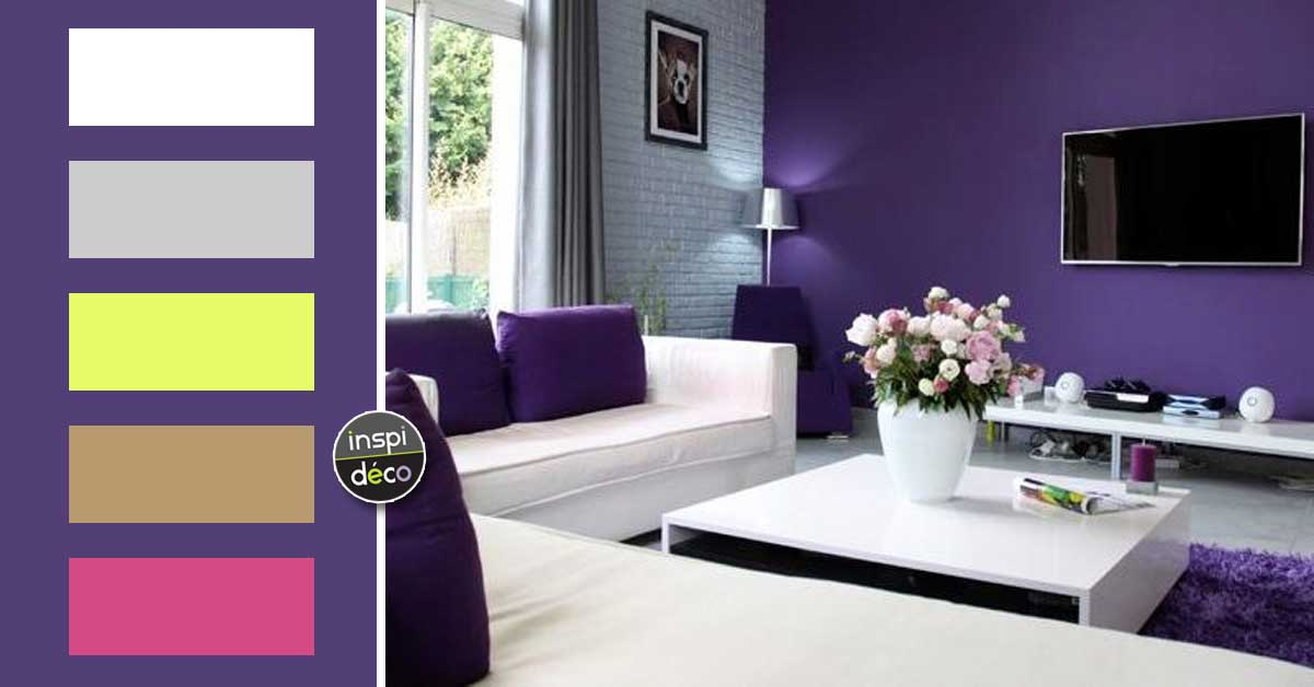 d corer son int rieur avec ultra violet 2018 couleur pantone de l 39 ann e. Black Bedroom Furniture Sets. Home Design Ideas