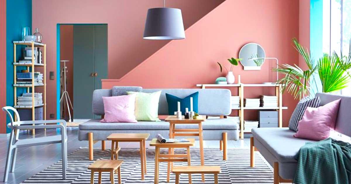 Salon en gris et rose! Voici 15 exemples pour se faire une petite ...