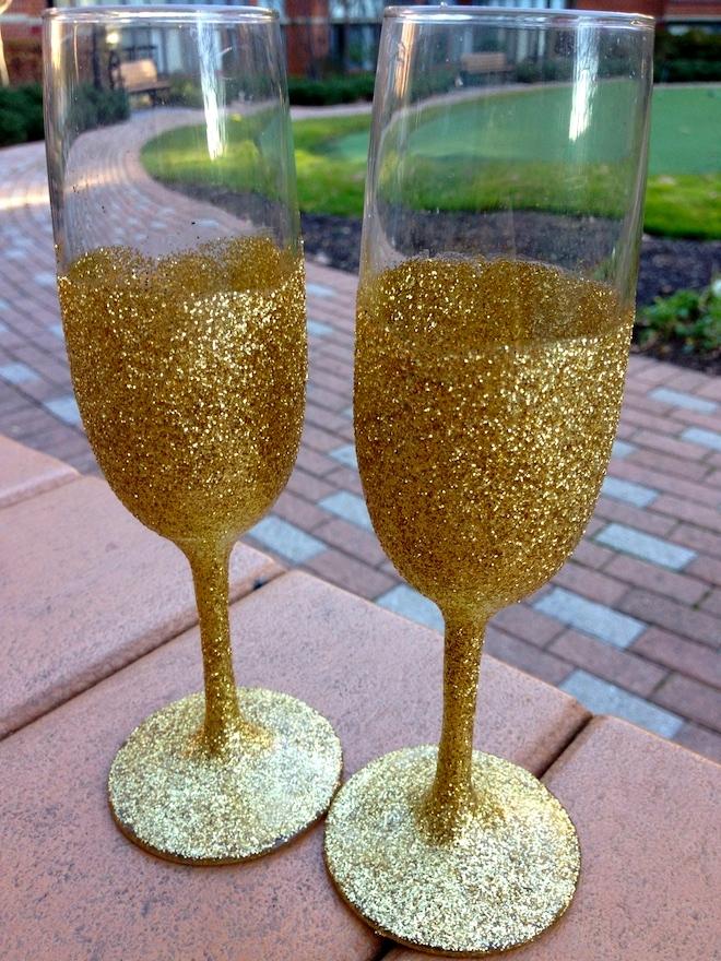 Personnaliser une Flute de Champagne