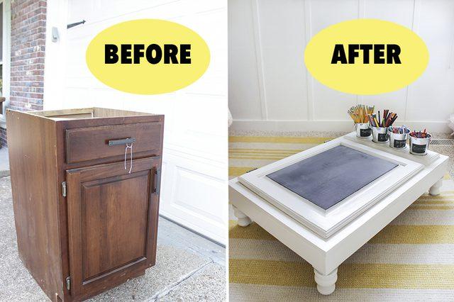 r cup rer un vieux meuble pour bricoler 15 id es pour vous inspirer. Black Bedroom Furniture Sets. Home Design Ideas