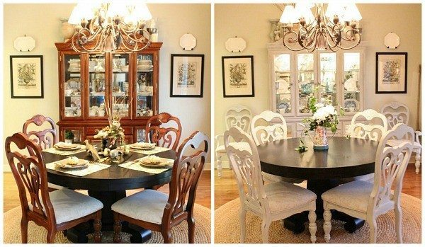 How To Spray Paint A Dining Room Table