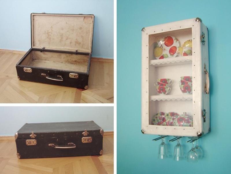 Recycler de vieilles valises