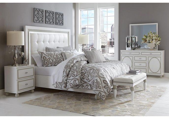 Deco Chambre Blanc Et Argent 15 Exemples Pour Trouver L