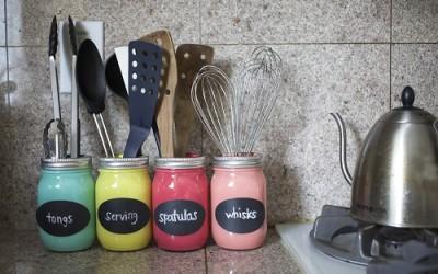 Fai da te utensili per la porta della cucina! 15 idee per ispirarvi...