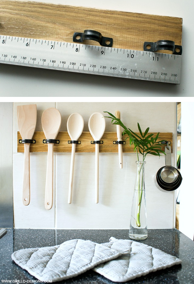 Portautensili fai da te per la cucina