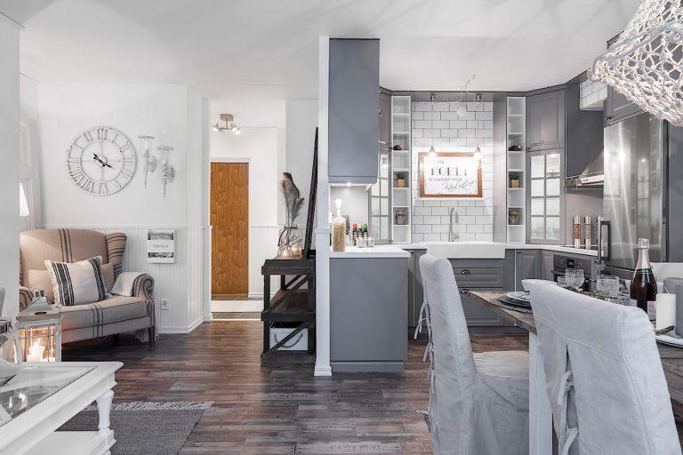 Cucina aperta sul soggiorno... 14 idee a cui ispirarvi