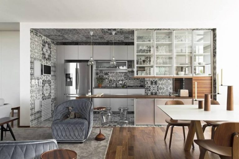 Kitchen open to the living room... 14 ideas to inspire you
