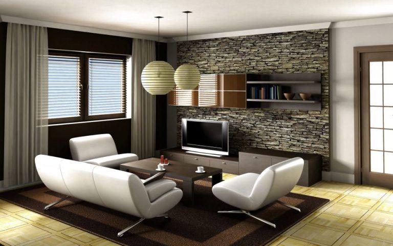 Pareti Soggiorno In Pietra : Pareti in muratura nel soggiorno idee per ispirarvi