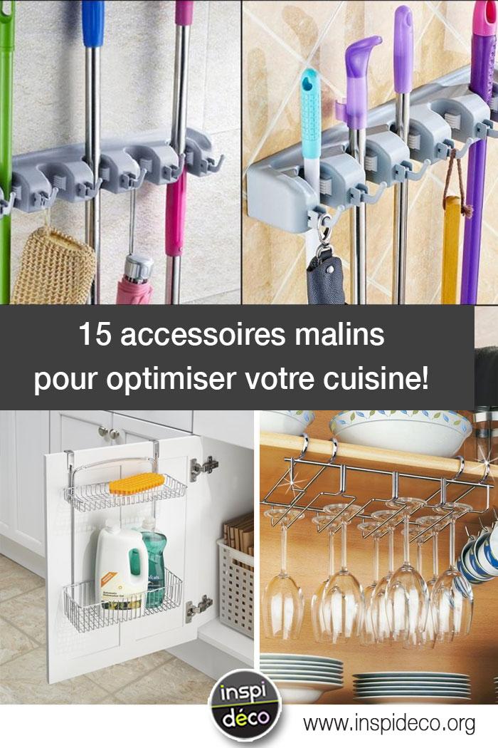 Accessoires malins pour optimiser la cuisine en voici 15 for Accessoires pour la cuisine