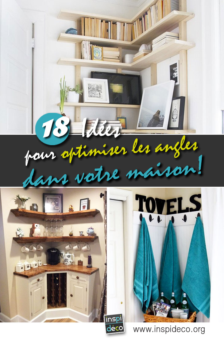 bien utiliser les angles dans votre maison voici 18 id es pour vous inspirer. Black Bedroom Furniture Sets. Home Design Ideas