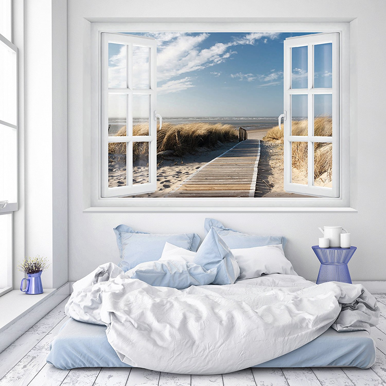 papier peint bord de mer cheap papier peint autocollant. Black Bedroom Furniture Sets. Home Design Ideas