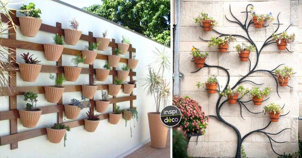 Déco mur extérieur jardin: Voici 15 idées qui sauront vous ...