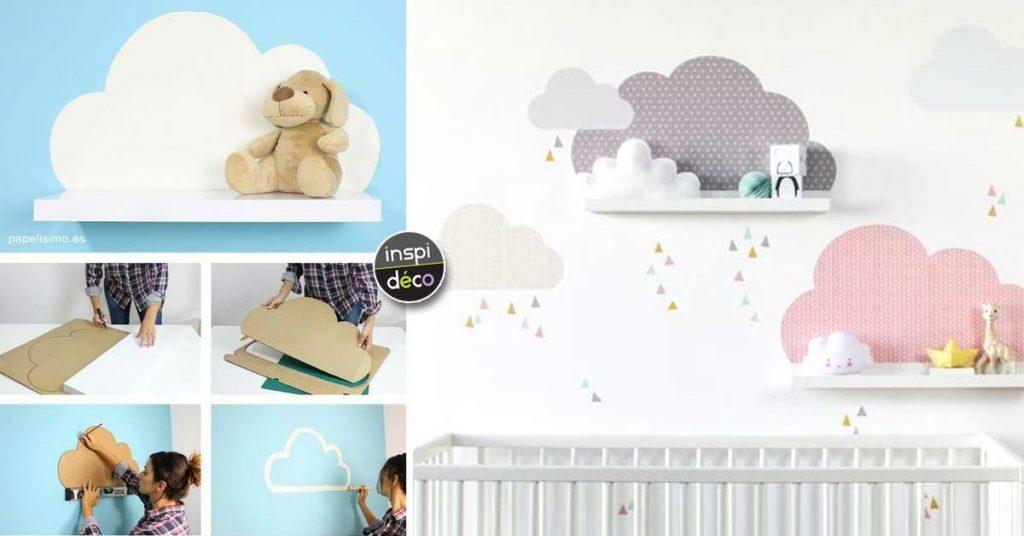 Chambre bébé nuages: 15 idées déco pour le nouveau venu...