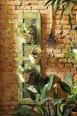 Déco mur extérieur jardin
