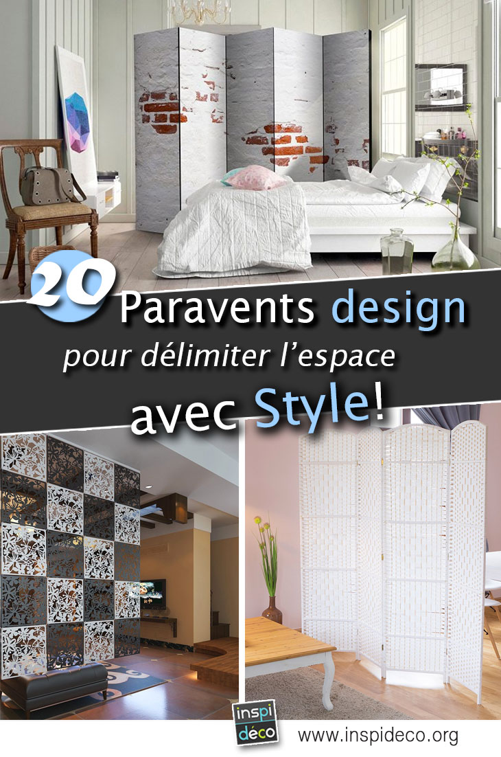 un paravent pour d limiter l 39 espace dans son int rieur 20. Black Bedroom Furniture Sets. Home Design Ideas