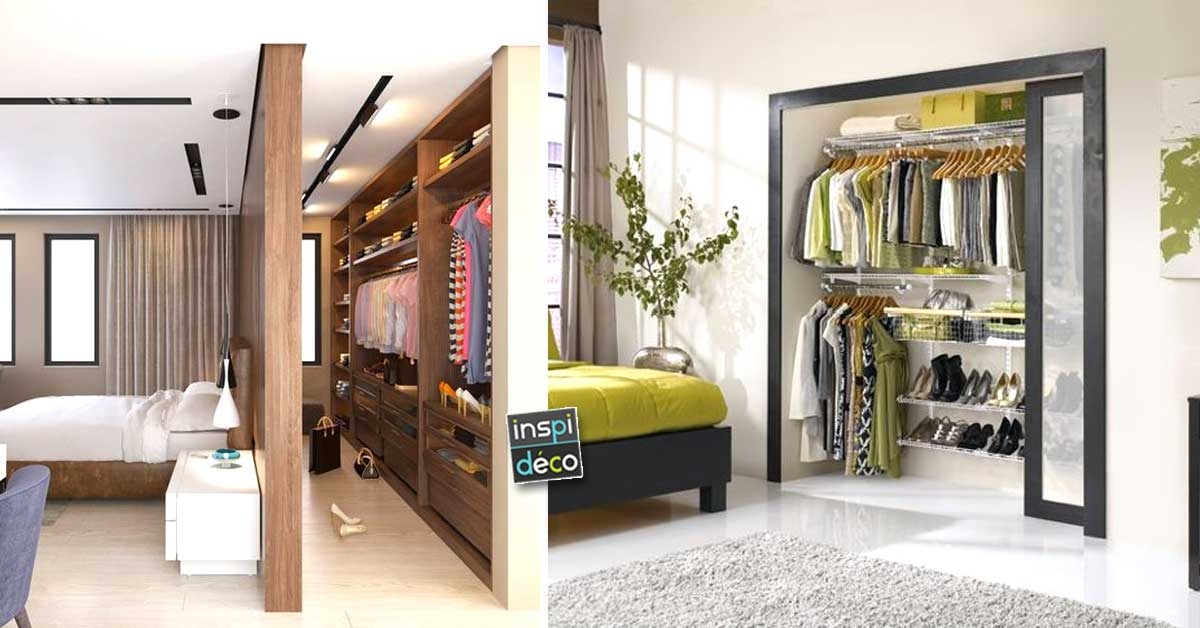 organiser un dressing voici 15 exemples qui sauront vous inspirer. Black Bedroom Furniture Sets. Home Design Ideas