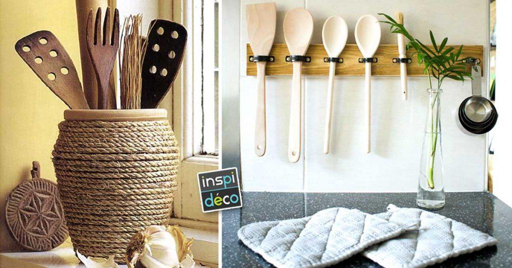 Porte Ustensiles Diy Pour La Cuisine 15 Idees Pour Vous Inspirer