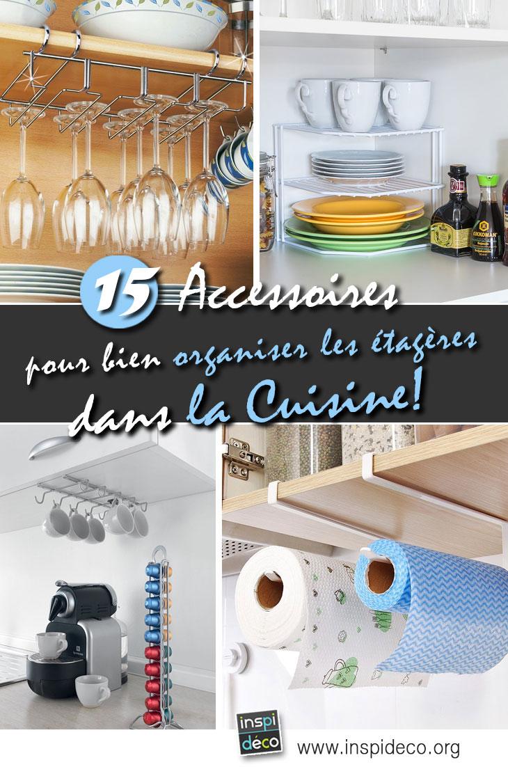 Hier Für Euch Heute Eine Kleine Auswahl Von 15 Zubehör, Um Besser Zu  Organisieren, Den Platz In Den Regalen Und Schubladen In Der Küche!