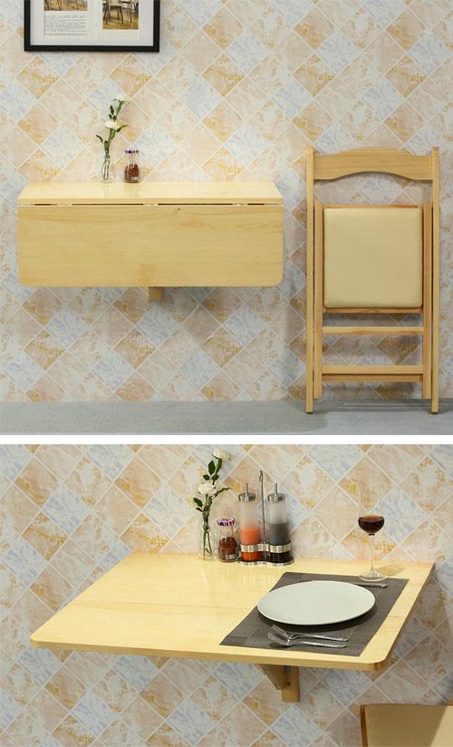 Table gain de place pour petite cuisine