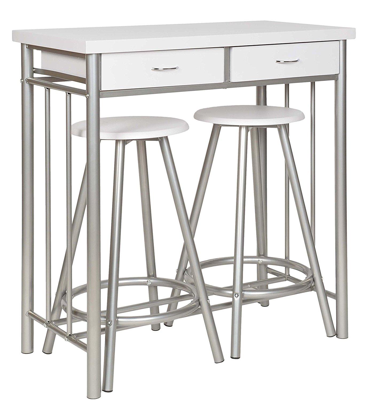 Table gain de place pour petite cuisine en voici 15 pour vous inspirer - Petite table ovale de cuisine ...