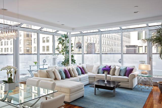 Abbinare un divano bianco con stile