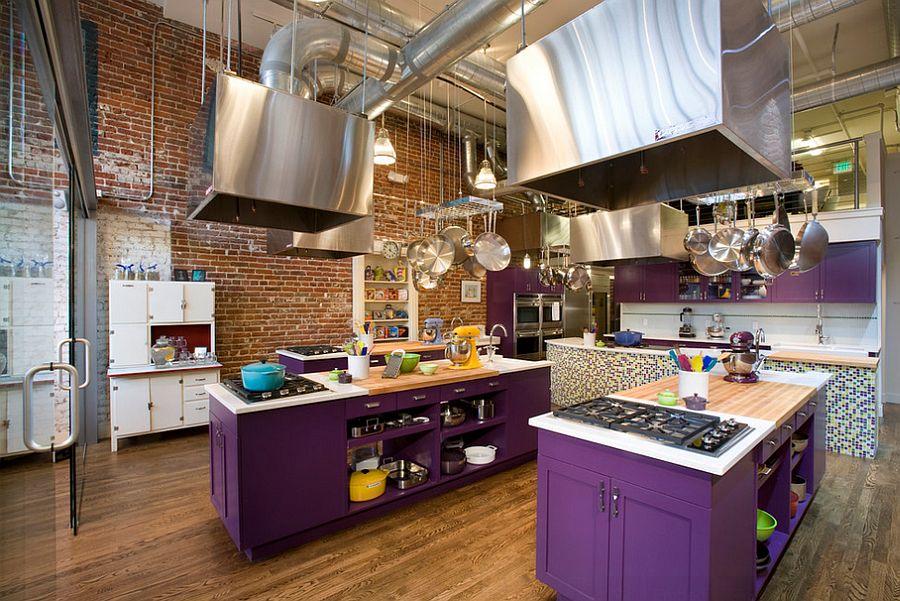 La cuisine au style industriel