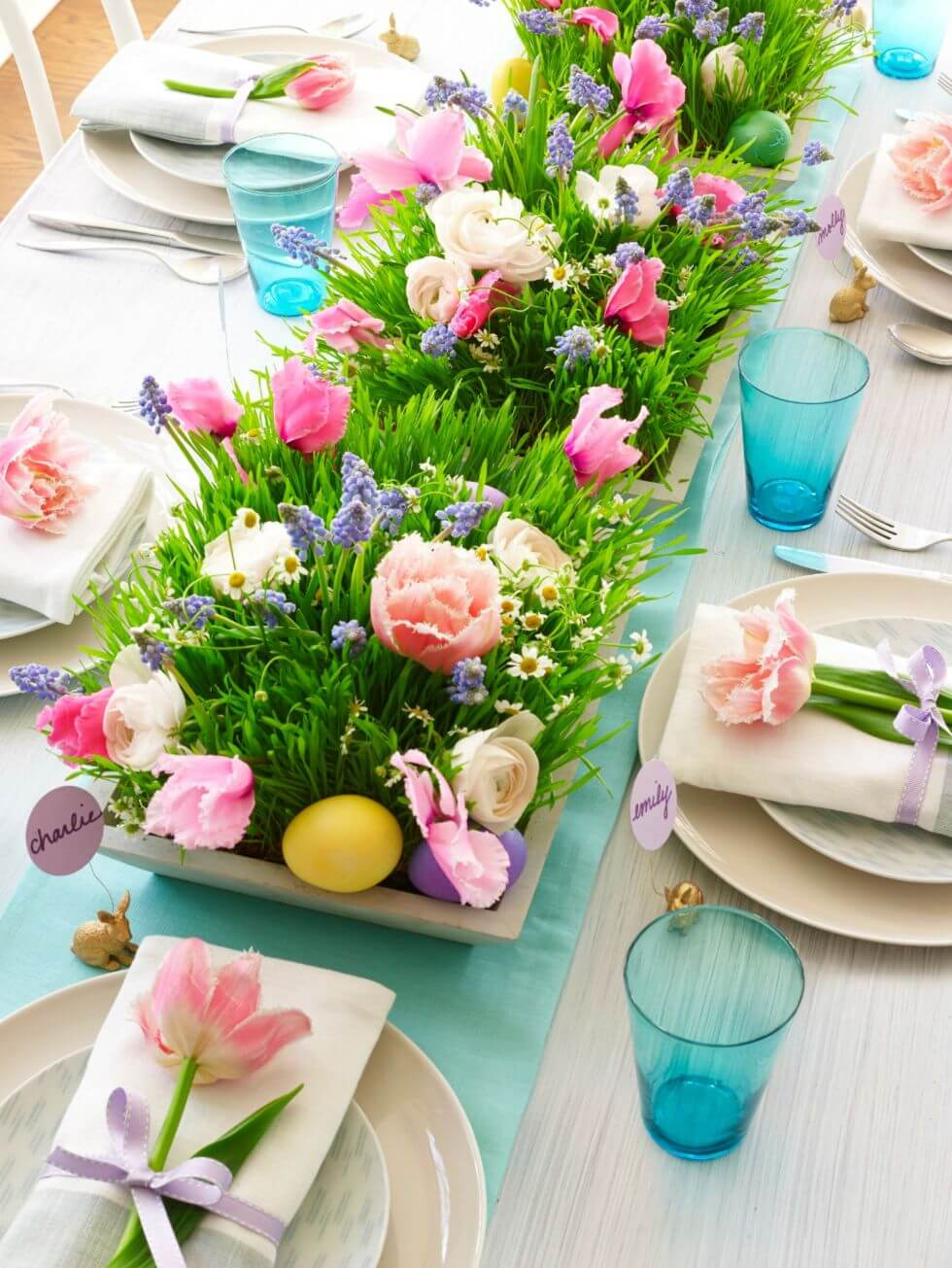 Un centrotavola fai da te per Pasqua