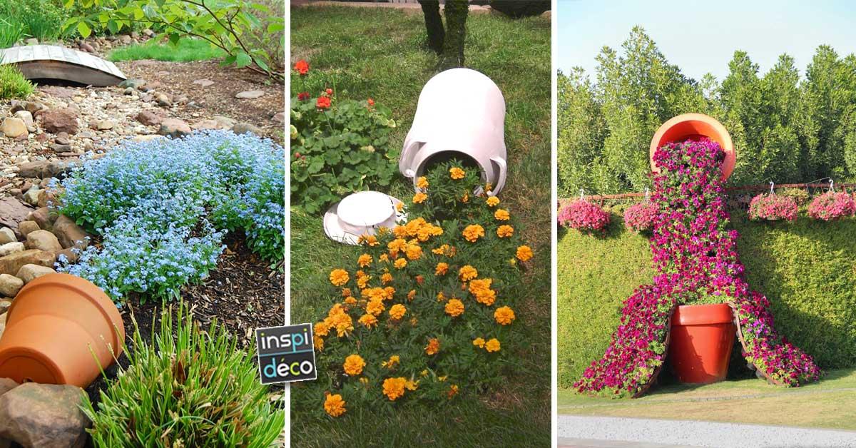 Des vases d bordants de fleurs dans ces jardins 13 id es for Jardin de fleurs a couper
