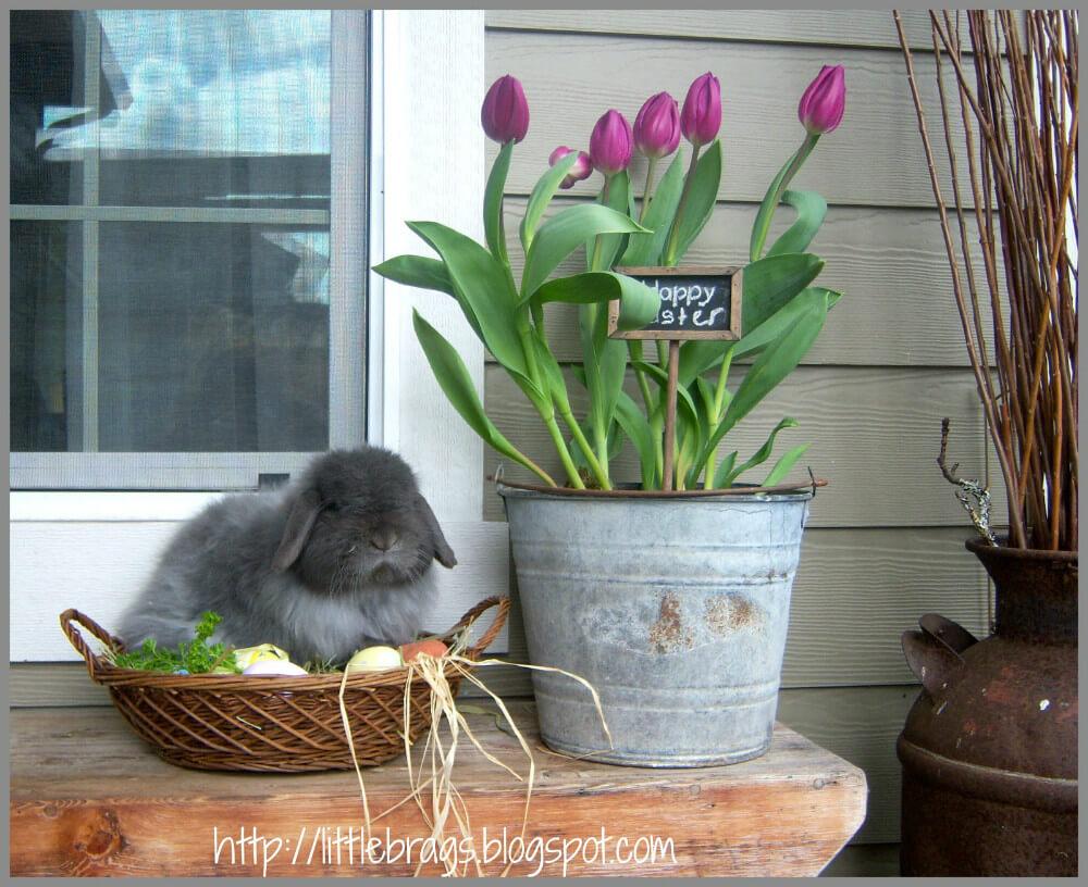 Décorer son Portique avec une belle jardinière DIY