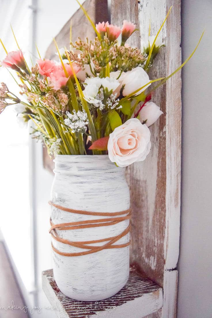 Décorations de printemps rustiques