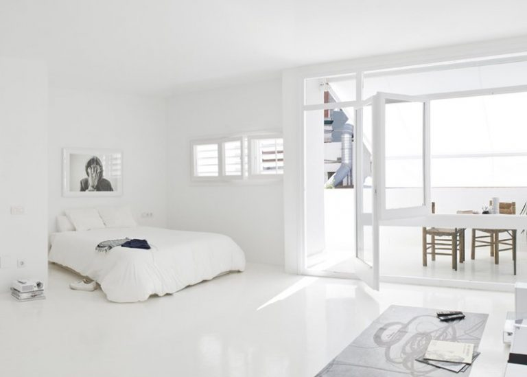 Total white pour un int rieur toujours la mode 20 id es - Idee fuori casa ...