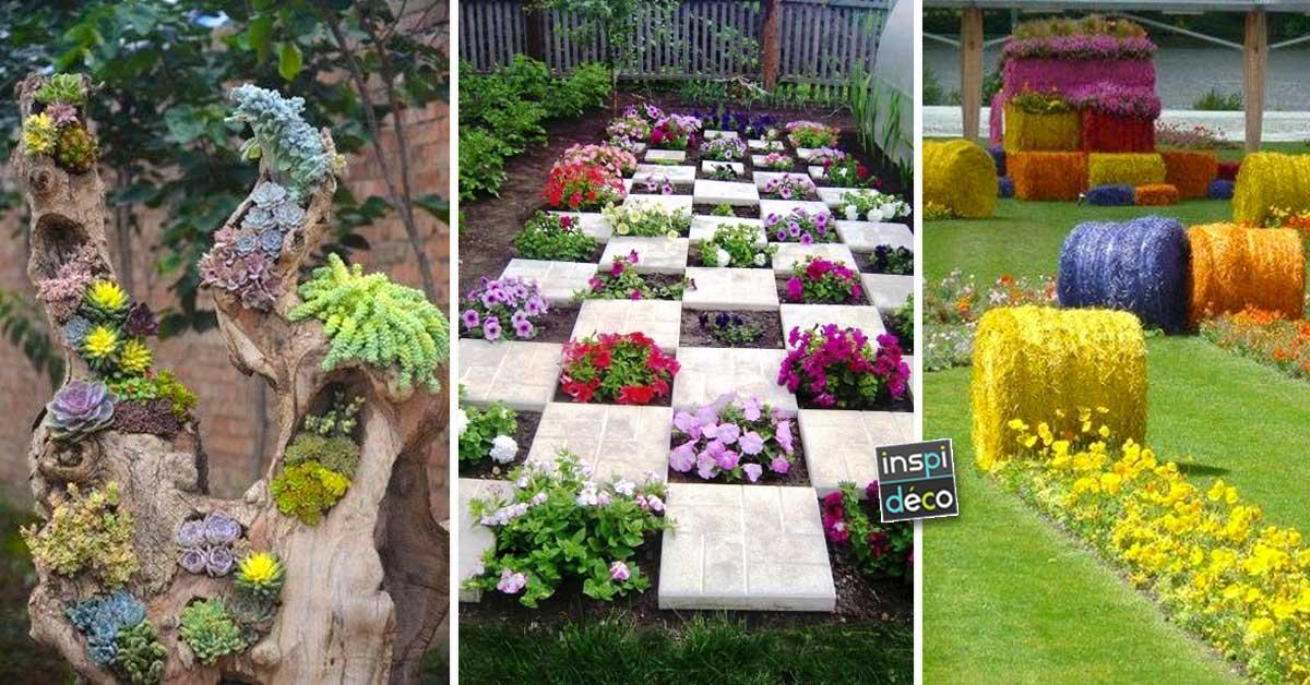 Déco jardin originale avec des fleurs! 15 idées pour inspirer...