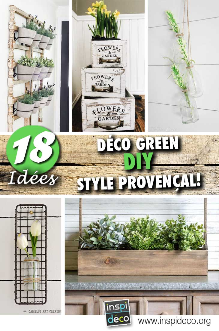 19 Idées déco style Provençal à réaliser avec des petites plantes!