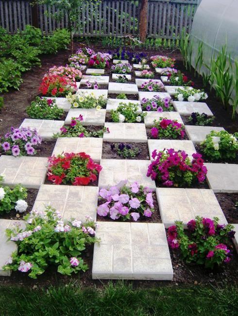 D co jardin originale avec des fleurs 15 id es pour for Deco originale jardin