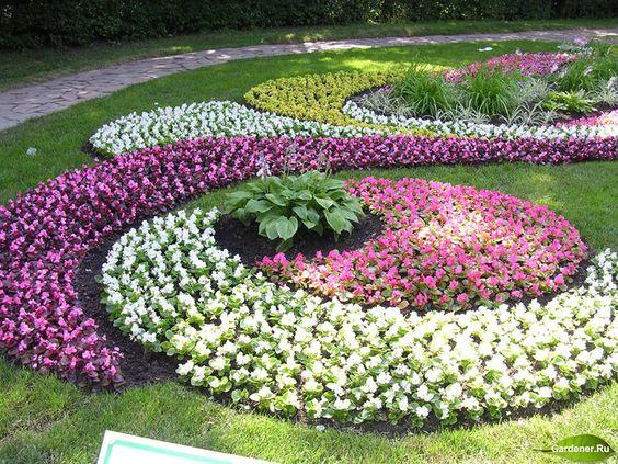 Déco jardin originale avec des fleurs