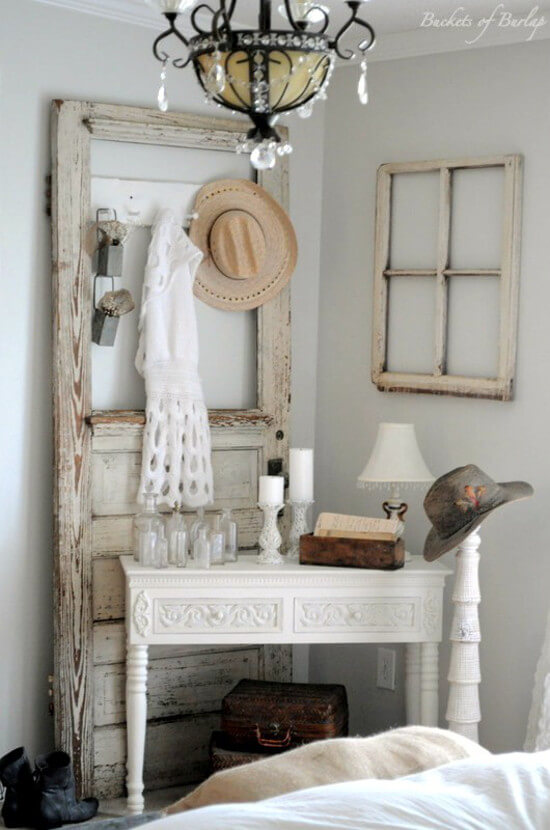 atmosph re vintage dans la chambre coucher 15 id es inspirez vous. Black Bedroom Furniture Sets. Home Design Ideas