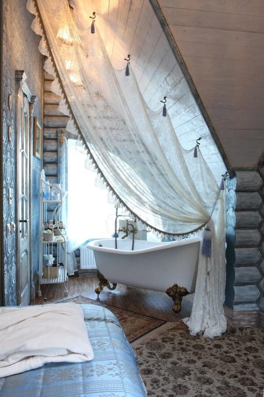Decorazione Vintage in camera da letto