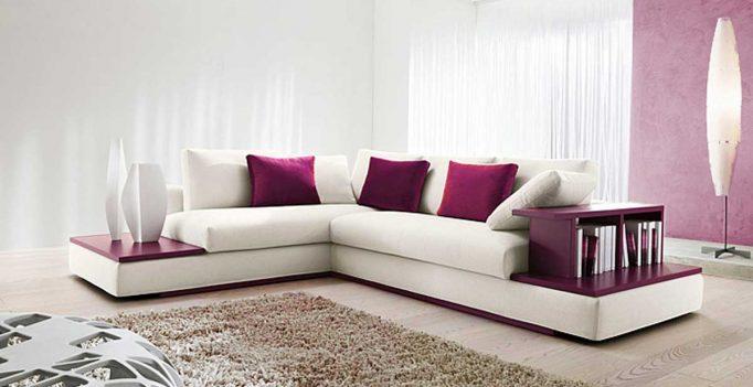 Accorder un divan blanc dans sa d co voici 15 id es pour for Manon leblanc salle de bain