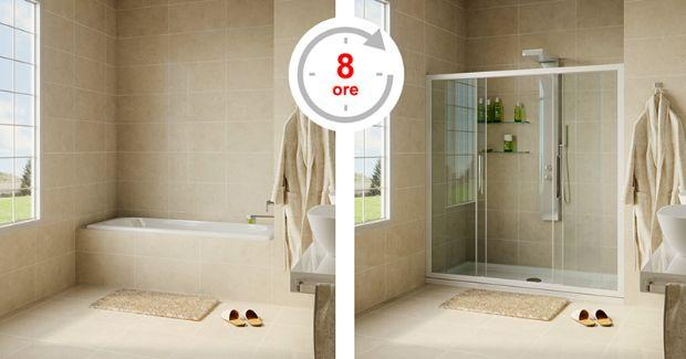 Transformer la baignoire en douche