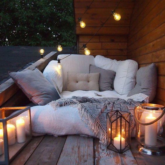 Transformer son balcon en un petit coin relax