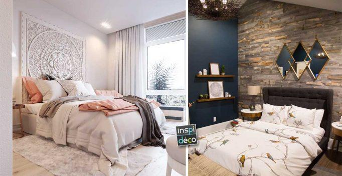 Déco mur chambre à coucher: 15 idées pour décorer avec caractère...