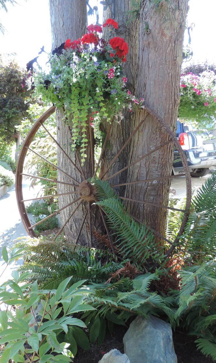 Déco Vintage dans le jardin
