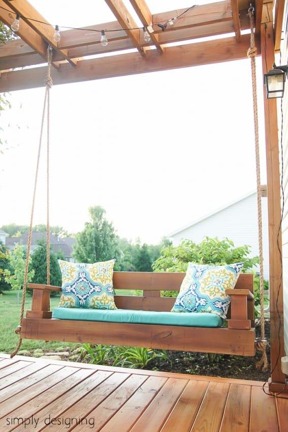 Balancelle de jardin DIY