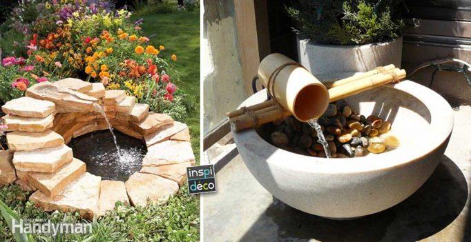 Fontaine De Jardin Diy 15 Idees Pour Un Exterieur Original